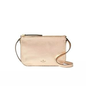 kate spade Holiday Lane Val Rose Gold Crossbody